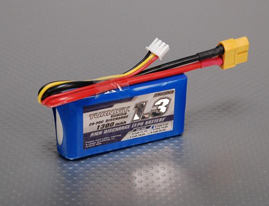 Turnigy 1300mAh 2S 20C Lipo Pack