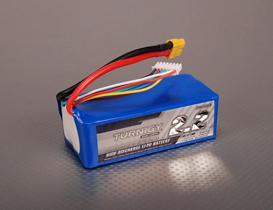 Turnigy 2200mAh 6S 40C Lipo Pack