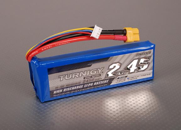 Turnigy 2450mAh 3S 30C Lipo Pack