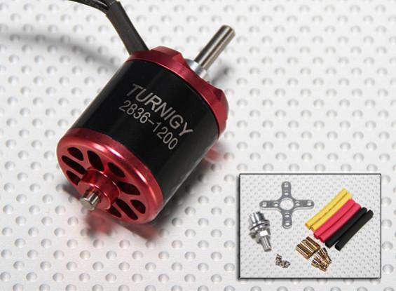 Turnigy2836 brushless Outrunner 1200kv