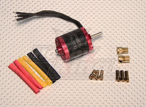 Turnigy 2836 Brushless 450-Size Heli Motor 3700kv