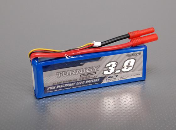Turnigy 3000mAh 2S 40C Lipo Pack