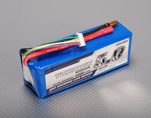 Turnigy 5000mAh 5S 30C Lipo Pack