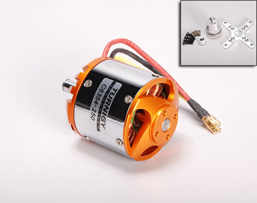 TGY 63-54-A 250Kv Brushless Outrunner (Eq. 52-20)