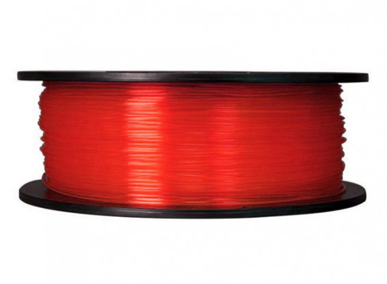 CoLiDo 3D Printer Filament 1.75mm PLA 1KG Spool (Translucent Red)