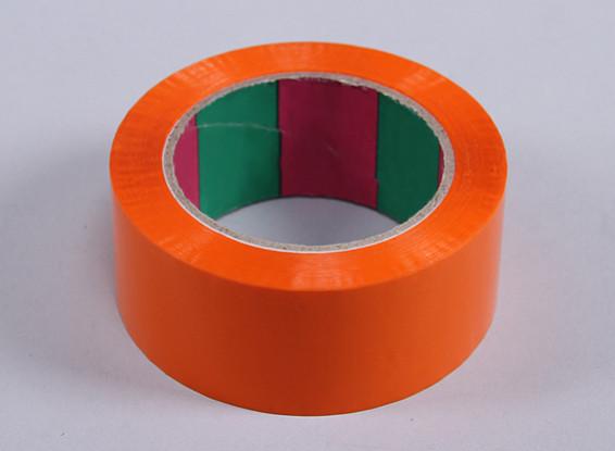 Wing Tape 45mic x 45mm x 100m (Wide - Orange)