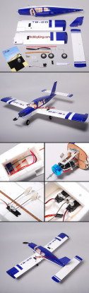 TB-20 Electric Airplane Include Servo/ESC/Motor