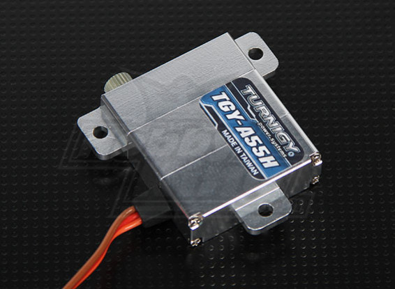 Turnigy™ TGY-A55H Slim Wing Alloy Case DS/MG Servo 8.6kg / 0.12sec / 28.4g