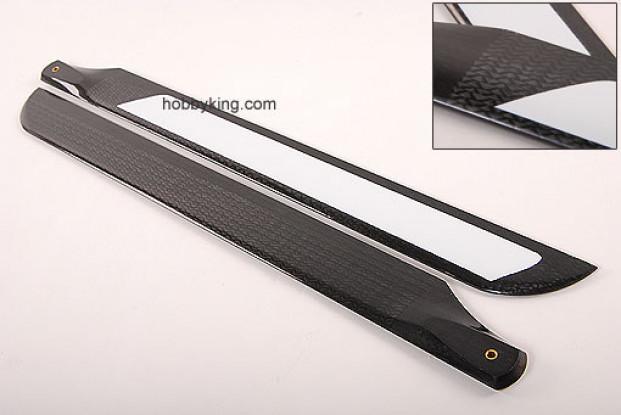 500mm TIG Carbon Fiber Z-Weave Main Blades