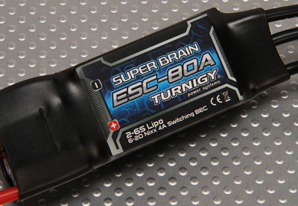 Turnigy Super Brain 80A Brushless ESC