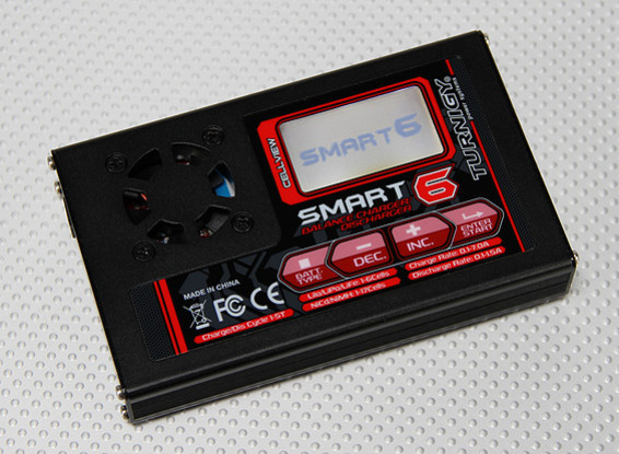 Turnigy Smart6 80w 7A Balance Charger with Graph Screen