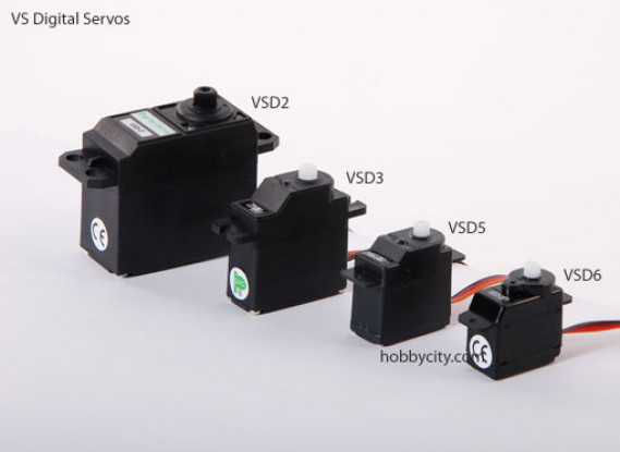 VSD-5 Digital Servo 8.0g/1.0kg/.17sec
