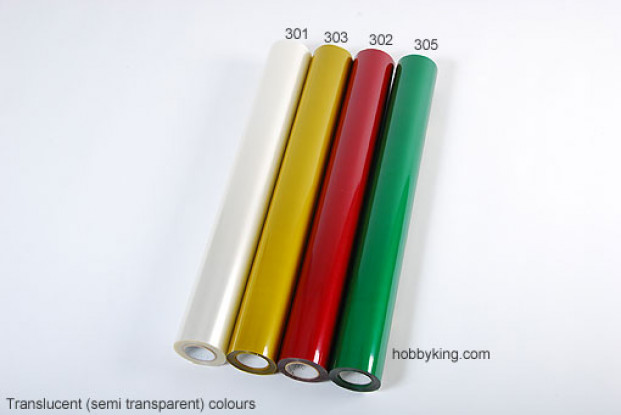 Covering Film Green Translucent (5mtr) 305