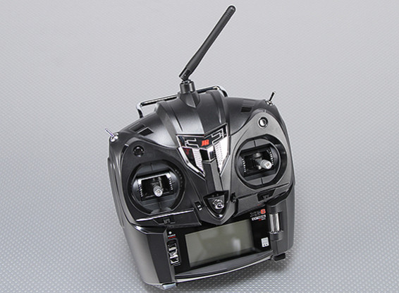 JR XG6 6-Channel 2.4GHz DMSS Transmitter w/RG631B Receiver (Mode 2)