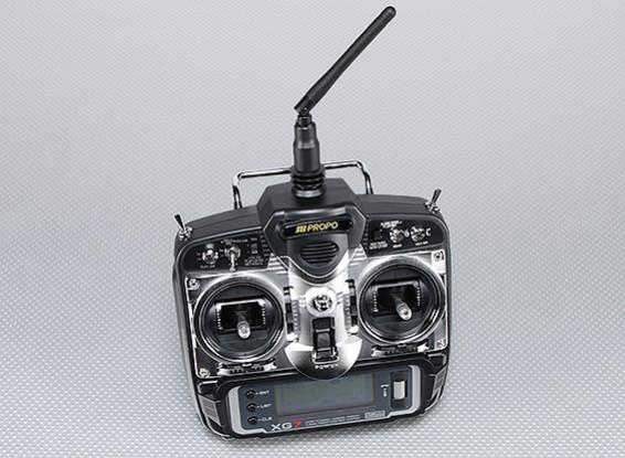 JR XG7 7-Channel 2.4GHz DMSS Transmitter w/RG831B Receiver (Mode 2)
