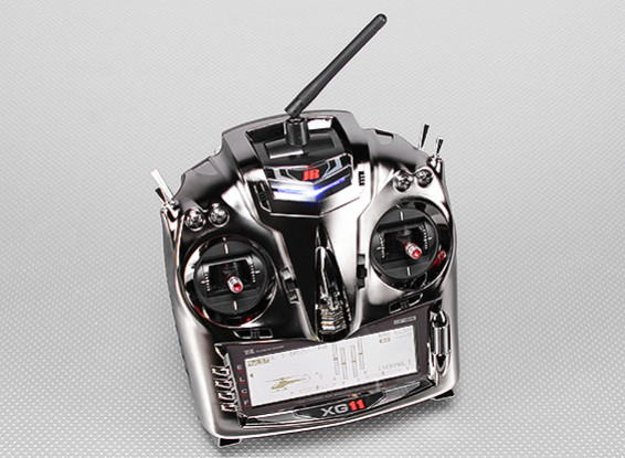 JR XG11 11-Channel 2.4GHz DMSS Transmitter w/RG1131B Receiver (Mode 2)