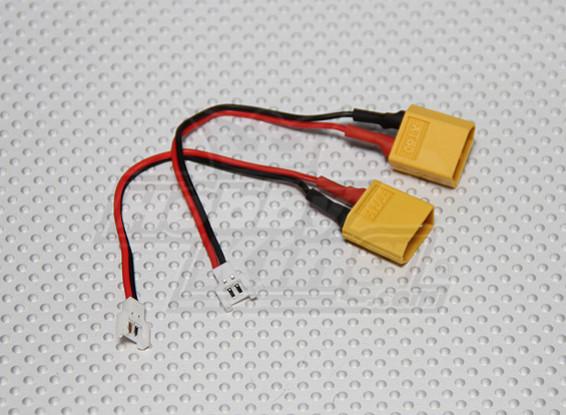 XT60 to Micro Losi Charging Adapter (2pcs/bag)