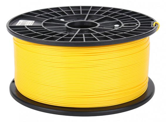 CoLiDo 3D Printer Filament 1.75mm ABS 1KG Spool (Yellow)