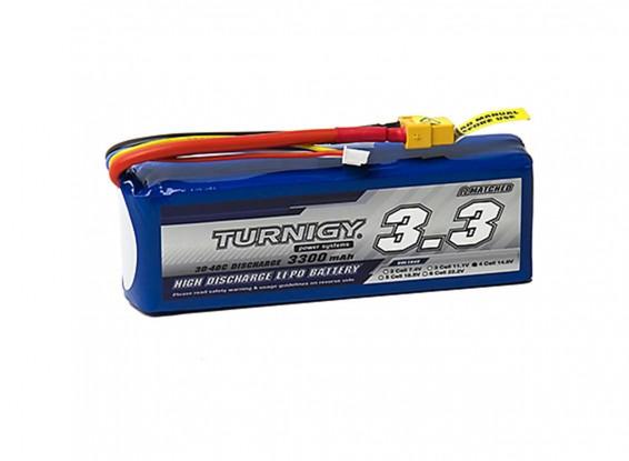 Turnigy-3300mAh-4S-30C-Lipo-Pack-XT-60-Battery-9067000259-0