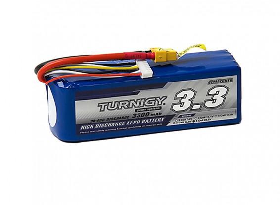 Turnigy-3300mAh-6S-30C-Lipo-Pack-w-XT-60-Battery-9067000261-0
