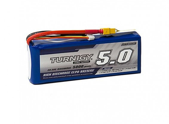 Turnigy-5000mAh-3S-20C-LiPo-Pack-w-XT-60-Battery-9067000276-0