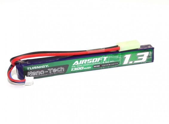 Turnigy-nano-tech-1300mah-2S-25-50C-Lipo-AIRSOFT Pack-NG13000A-2S-25