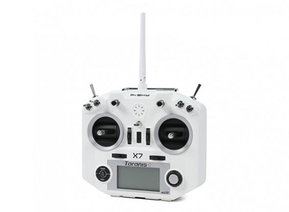 FrSky Taranis Q X7 Digital Telemetry Radio System 2 4GHz ACCST (White-no  plugs) (Standard Version)