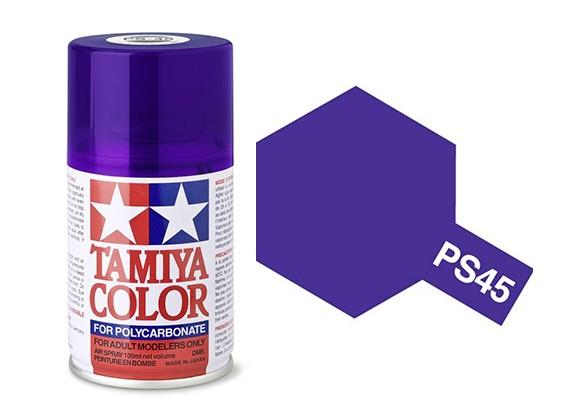 Tamiya PS-45 TRANSLUCENT PURPLE PAINT