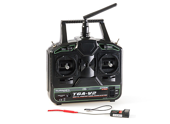 Turnigy T6A-V2 AFHDS 2 4GHz 6Ch Transmitter w/Receiver V2 (Mode 2)