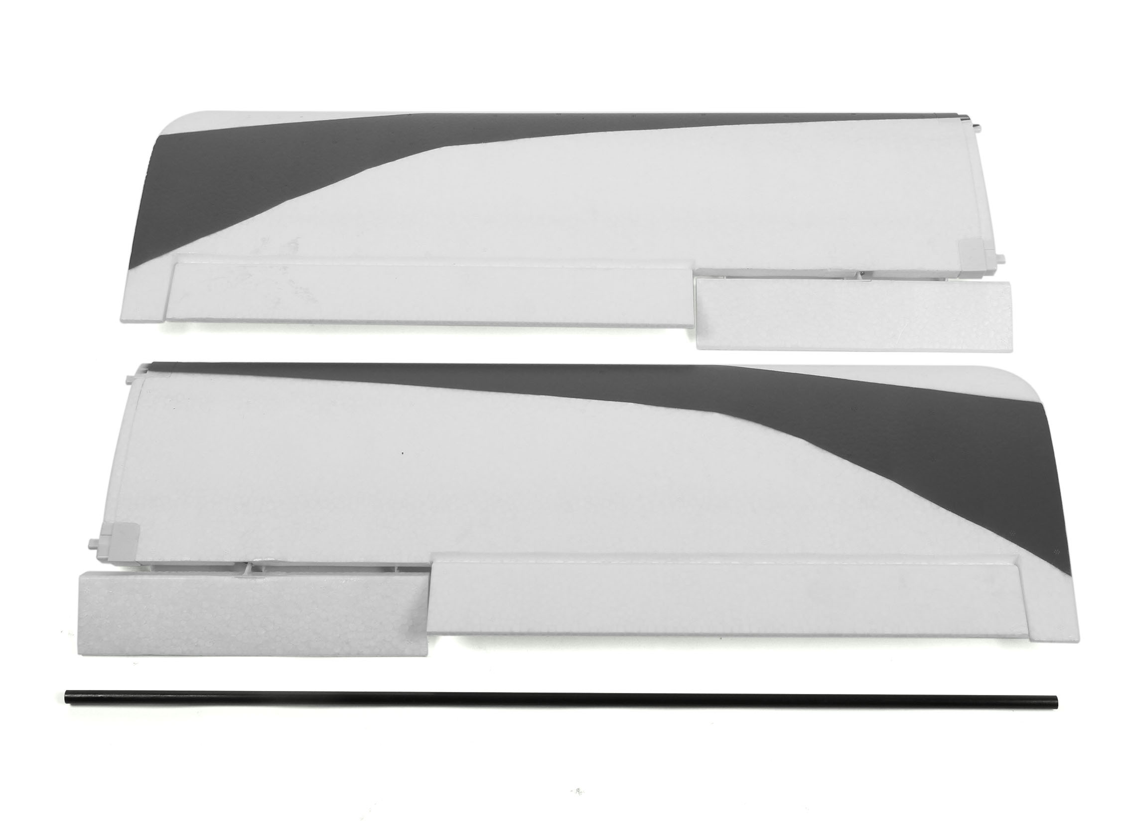 Durafly Tundra - Orange/Grey - Main Wing Set w/Control Horns (Revised  Connector)