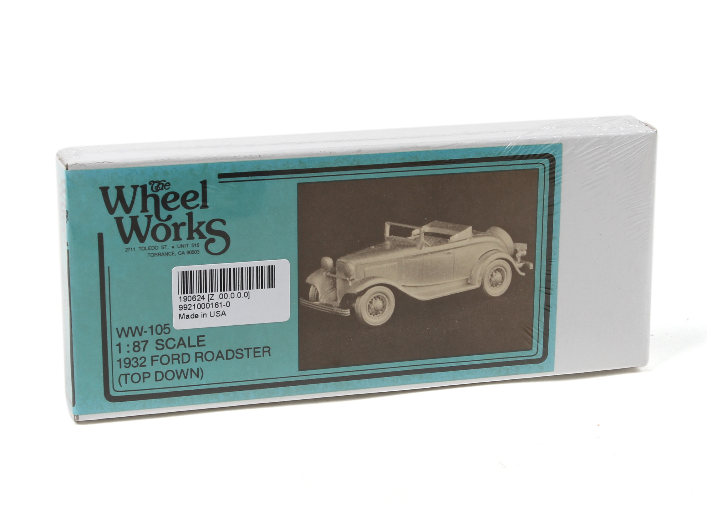 Item #96-113 HO Scale Wheel Works /'Rail Truck/' KIT