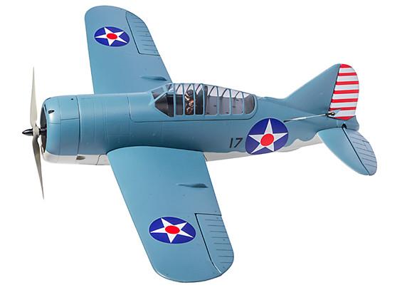 """Durafly Brewster F2A Buffalo 920mm (36"""") PNF (Early WW2 Scheme)"""