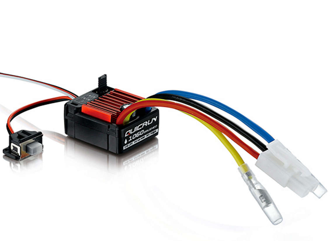 Hobbywing QuicRun Brushed Waterproof 80A//60A ESC Speed Controller RC US