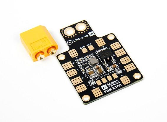 Matek Systems PDB-XT60 W// BEC 5V /& 12V 2oz Copper For QAV FPV Drone Quadcopter