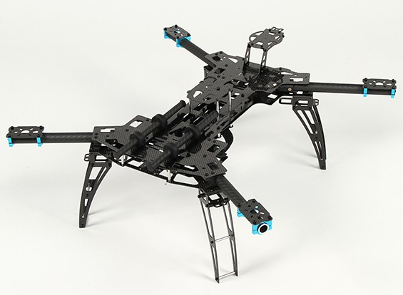 HobbyKing® Alien 560 Folding Quad-Copter Carbon Fiber Version (Kit)