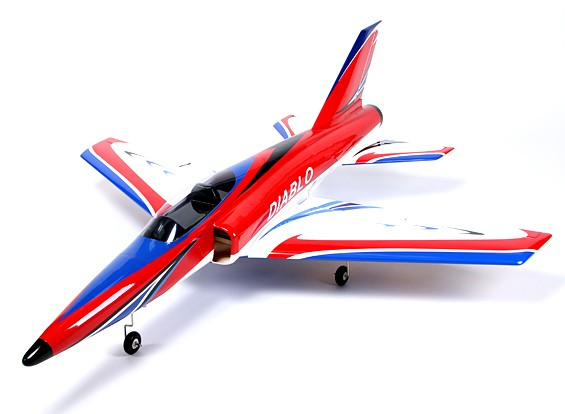 HobbyKing™ Diablo 90mm EDF Jet Composite 1250mm (ARF)