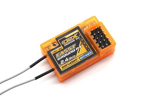 OrangeRx GR400F Futaba FASST Compatible 4Ch 2 4GHz Ground Receiver