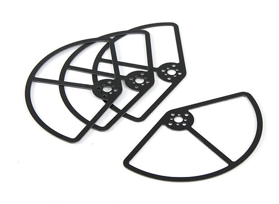 Propeller Guards For The 250 Class Racer 5inch Set Of 4