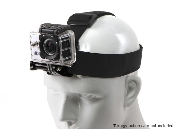 22a9535634a Adjustable Elasticated Head Strap For GoPro   Turnigy Action Cam