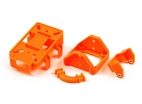 b657bd714049 FPV Tilt Mount Parts (set of 4 Plastic Parts for DIY) (Orange)