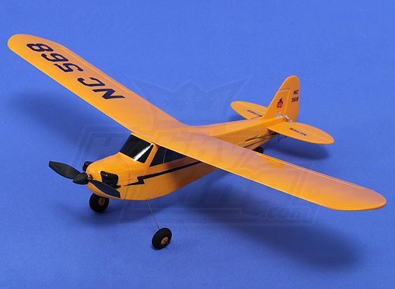 Hobbyking Micro J3 Trainer Cub 450mm W Tx Lipo Prop Rtf