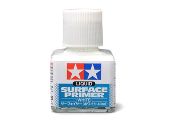 Tamiya Liquid Surface Primer White (40ml)