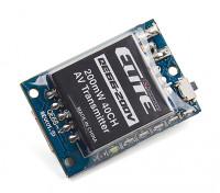 Quanum Elite QE66-200V 5.8GHz 200mW 40ch Wireless AV Transmitter (Vertical SMA Antenna) NTSC/PAL