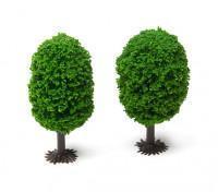 HobbyKing™ 70mm Scenic Model Trees with Base (2 pcs)