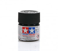 Tamiya X-1 Gloss Black Mini Acrylic Paint (10ml)