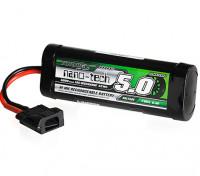Turnigy nano-tech 5000mAh 8.4V 7P 10C NiMH Battery Hump Pack w/Flat Connector