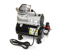 DU-136 Mini Air Compressor with 3L Storage Tank and Pressure Regulator (EU Plug) 1