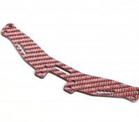 Blaze 1/10 Spare Parts - 4WD Color Fiber Rear Damper 2.5mm (Red)