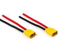 XT90 Plug Male 10AWG 10cm Tail (2pcs/bag)