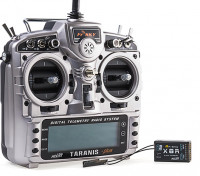 FrSky 2.4GHz ACCST TARANIS X9D PLUS and X8R Combo Digital Telemetry Radio System (Mode 2)